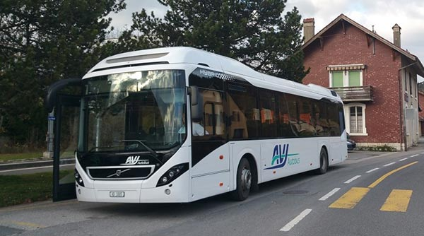 Bus AVJ Vallée de Joux