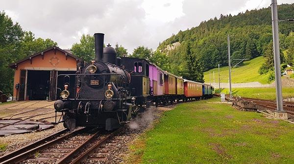 Compagnie des trains à vapeur de la Vallée de Joux
