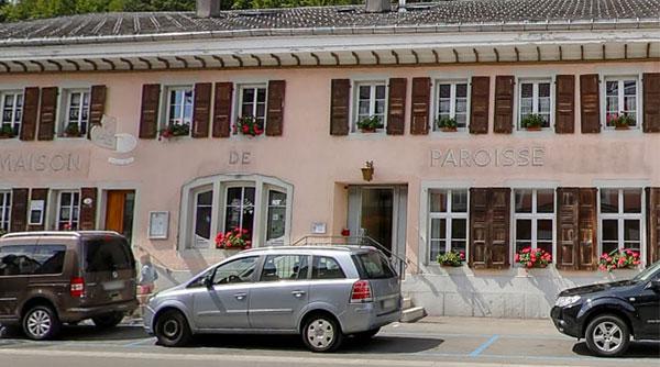 Restaurant Maison de la Paroisse au Village du Sentier